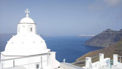 海外一人旅第18段はギリシャの眩しい青い空に感動 - 3日目(サントリーニ編前半)