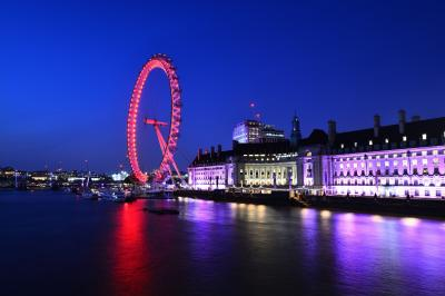 初ロンドン×1人旅
