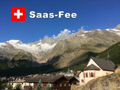 Bon Voyage! スイス満喫7日間の旅 2018夏 ~5日目~「サース・フェー」「氷河特急」