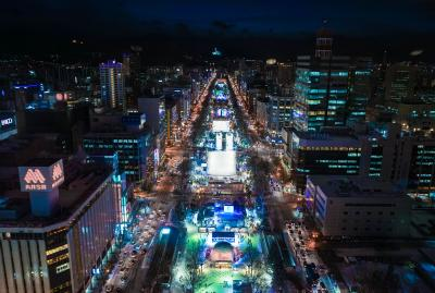 冬の北海道お祭りめぐり②(札幌 さっぽろ雪まつり)