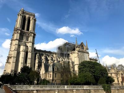 2019年春ヨーロッパ旅行7ーパリの散策、ルーブル美術館、オルセー美術館、ノートルダム大聖堂