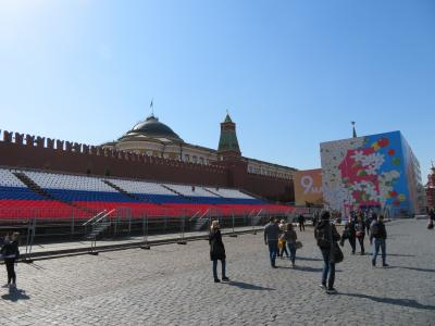 モスクワ 本当におそロシア?  ロシア1~2日目