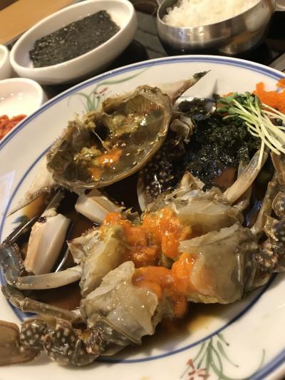 2018韓国 ソウルひとり旅(3)~ 食べたかったカンジャンケジャン