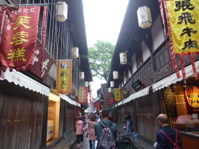 5歳の娘を連れてGW四川省+重慶10日間の旅9-朝の錦里と武候祠博物館