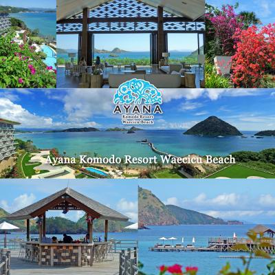 GW、5度目のバリ島2-フローレス島、コモド空港へ、昨年オープンのアヤナコモドリゾート(Ayana Komodo Resort)宿泊編1 -