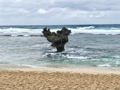 2017年11月 沖縄2泊3日の旅その3 古宇利島ハートロック~おきなわワールド