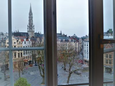 `世界遺産グランプラス`に徒歩1分のアゴラ広場(泊)-ブリュッセル-