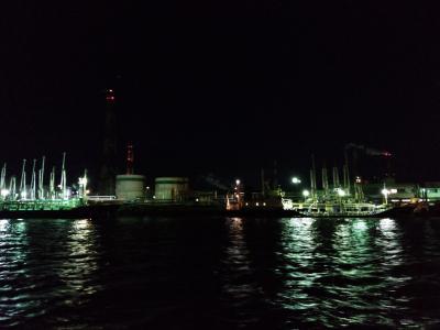 見応えのある工場夜景