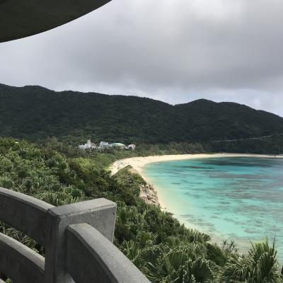 渡嘉敷島上陸