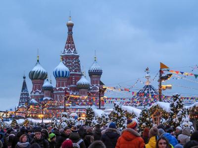 '19 滞在14時間のモスクワ01 : 完全なるアウェー。ロシア式サウナ バーニャを体験する