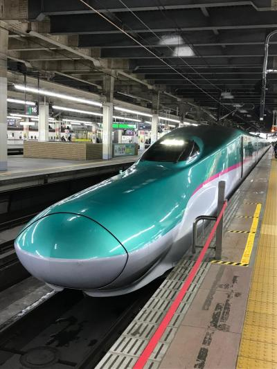 グランクラスで行く北海道新幹線の旅
