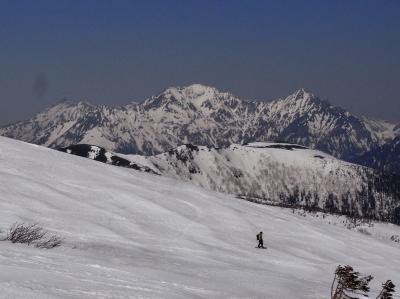 乗鞍高原で遊ぶ   BCスキー