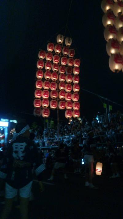 ねぶた祭り旅行6日目 史跡尾去沢鉱山・秋田竿燈まつり