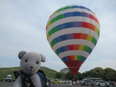 秋吉台で熱気球に乗る(美祢市の旅その1)