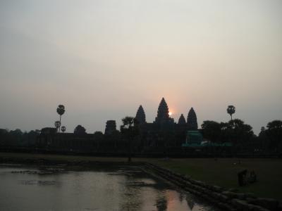 【Wild Cambodia】マレーシア&カンボジア[7] ~アンコール・ワットでサンライズを迎える~