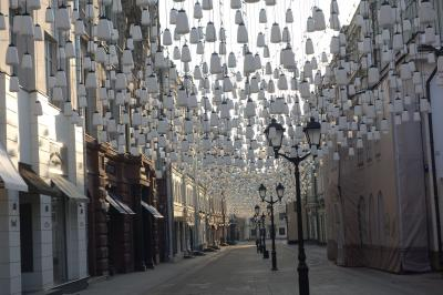☆なめちゃいけない10連休! ヨーロッパ行きは断念か?☆ 2019年GW モスクワ街歩き 12(朝のお散歩②)