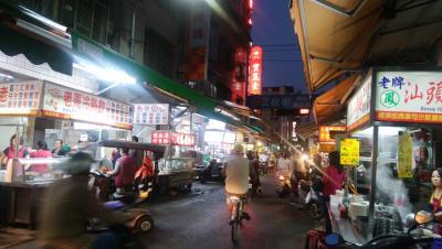台湾 高雄から台中への旅