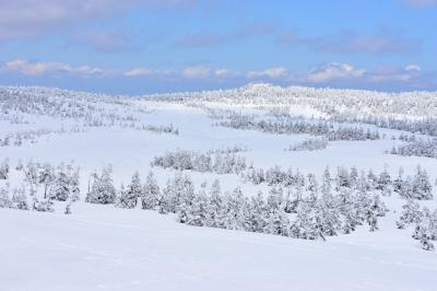 八幡平の雪景色 【東北遠征2日目午後】