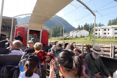 2019 マイル de スイス!②(ベルニナ線、野外博物館)