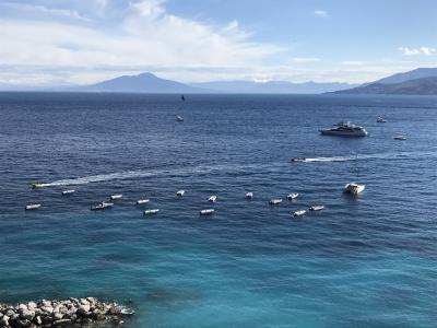 ただ今フィレンツェに滞在中。カプリ島で潮騒を聞きながらマッタリして来ました。