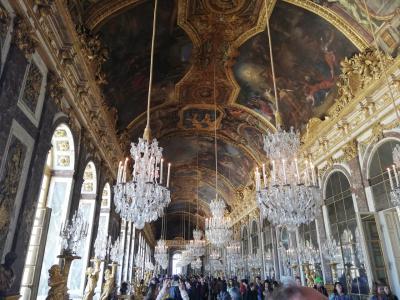 初めてのヴェルサイユ宮殿は…