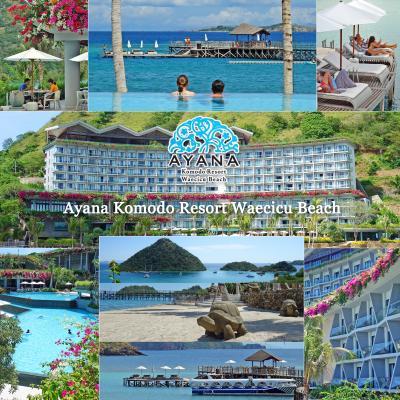 GW、5度目のバリ島3-昨年オープンのアヤナコモドリゾート(Ayana Komodo Resort)宿泊編2 レストラン・プール編-