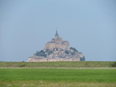 真のGW10連休!にフランスを周遊してみた♪5 モン・サン・ミッシェルへ