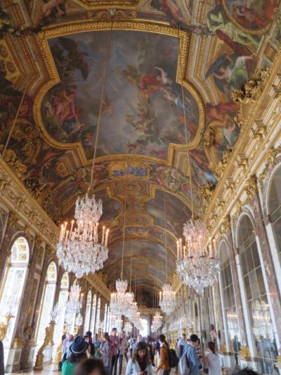 真のGW10連休!にフランスを周遊してみた♪7 ヴェルサイユ宮殿へ