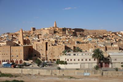秘境パックで行く北アフリカ 「チェニジア・アルジェリア周遊13日間」 ⑨世界遺産の村・ムザブの谷