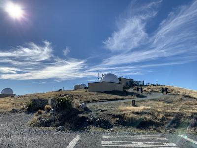 2019年GWニュージーランド ~星空を求めてテカポへ1人旅~:Part2 テカポ1泊目~マウントジョン天文台探訪編