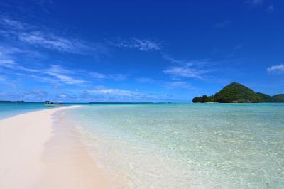初マイル旅(陸)パラオ♪③3日目・ロングビーチに一番乗り!絶景のミルキーウェイ
