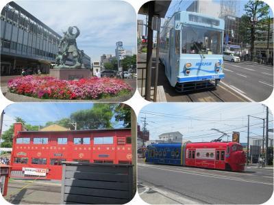 初夏の山陽・四国旅(4)岡電に乗っておかでんミュージアム。チャギントンもいたよ