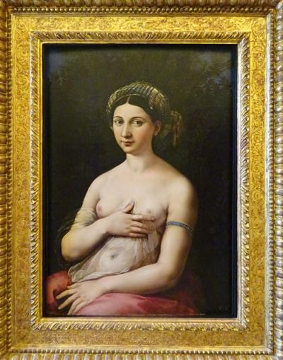 イタリア2019春-3 ルネッサンス起源のなんちゃって新説、バルベリーニ美術館とローマ国立博物館