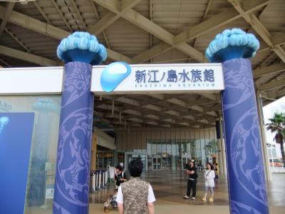 【2010年冬 神奈川旅行】1泊2日で新江ノ島水族館へ