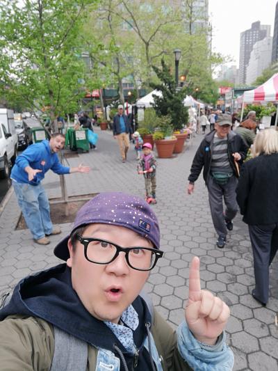 いざニューヨーク!初英語圏に男一人旅