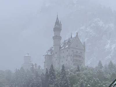 現地ツアーでノインシュヴァンシュタイン城へ