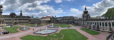 ミュンヘンからICEで5時間かけてドレスデンへ。