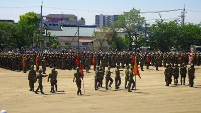 陸上自衛隊第3師団記念行事の前日行事の一部を見て来ました 上巻。