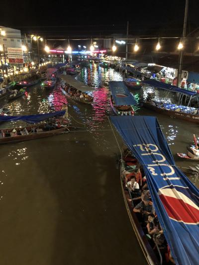 アムパワー前編 水上マーケットで賑わう『メークロン川の蛍ツアー』