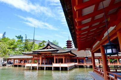 名宿「岩惣」に泊まる!初夏の宮島・厳島神社①-まずは「あなごめし」に「厳島神社参拝」と「ステキカフェ」でまったりと!!