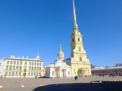 サンクトペテルブルグで7泊(3): ペトロパヴロフスク要塞へ