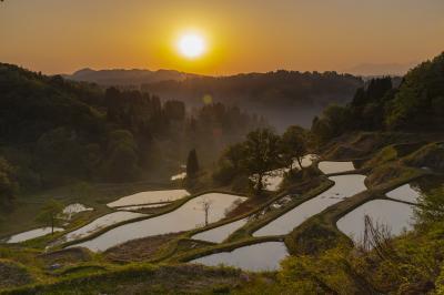 農村の原風景、十日町の棚田を巡る撮影行