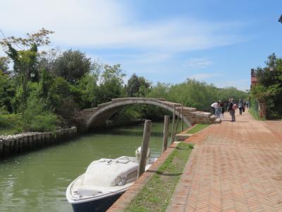 2019 イタリア・モザイクの旅 その6 トルチェッロ島・ブラーノ島・ムラーノ島