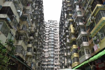 2017真夏の香港② モンスターマンションに行ってみた