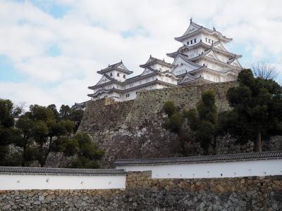 2019年睦月 衝動的に姫路城を見たくなったので行く兵庫県城巡り ②これぞ世界遺産!の姫路城をガッツリ見学(+おまけの明石城)