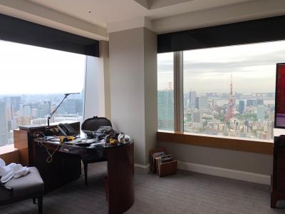5歳児子連れホテル宿泊記@リッツ・カールトン東京 クラブフロア