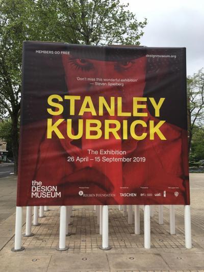 2019 GW LONDON家族旅行⑤ 6日目 STANLEY KUBRICK展