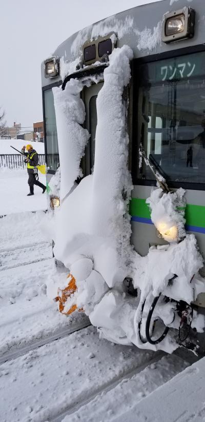 史上最強クラスの寒波が直撃!2019北海道旅行②