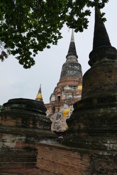 暑い!タイの旅(アユタヤからバンコク)