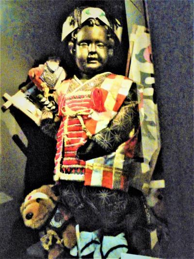 桃太郎像/武者小僧像は♪、でも金太郎像は(^^? -ブリュッセル-